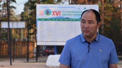 Выездное совещание на центральном стадионе с. Курумкан. 12.07.2016