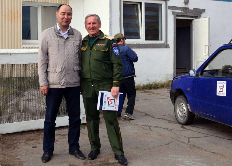 Выборы прошли. Леонид Будаев и Валерий Колесников