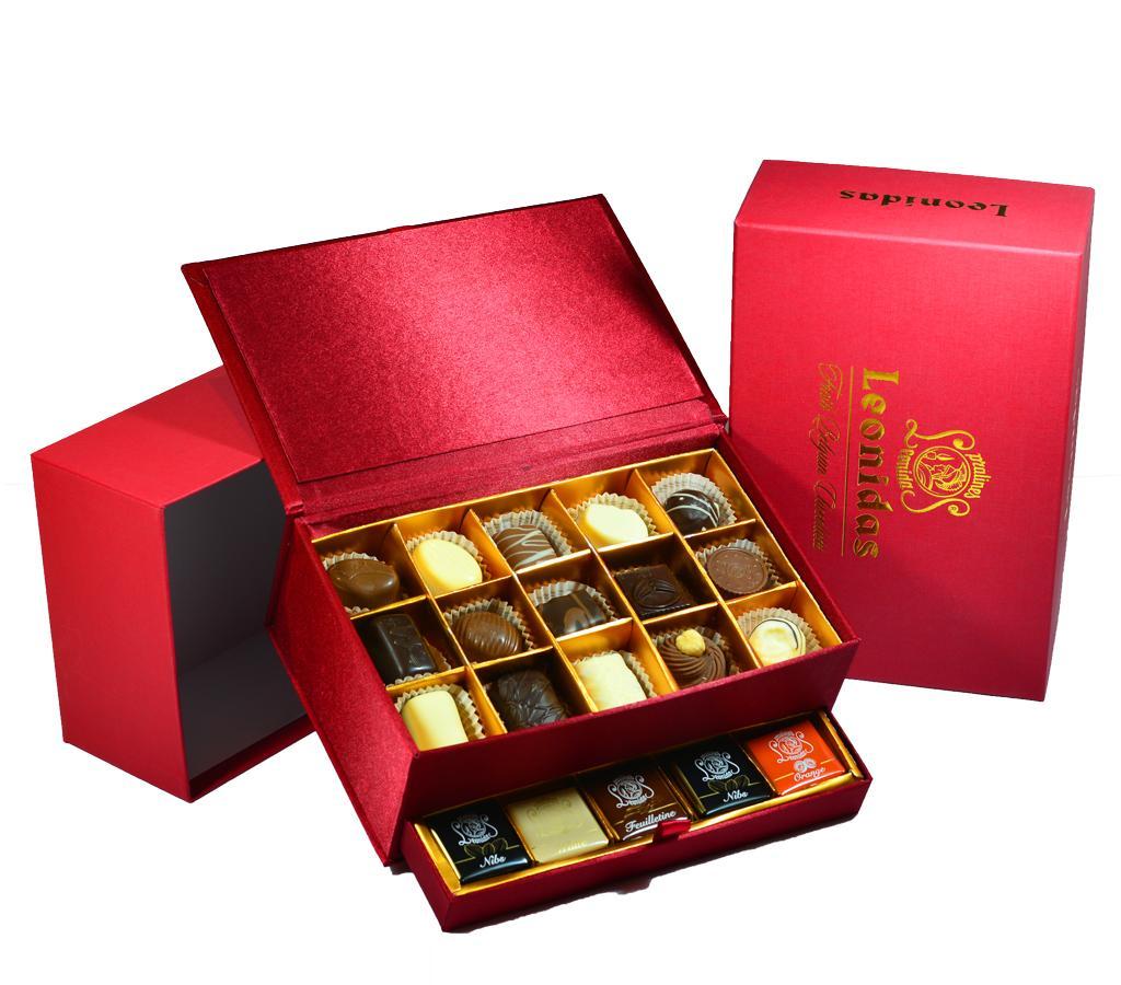 30 Piece Jewelry Box Leonidas Chocolates