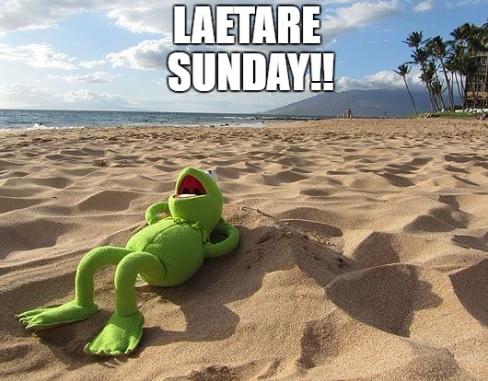 Laetare Sunday