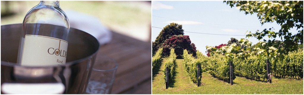 goldie rosé and vines, waiheke island, new zealand. photo by leonie wise