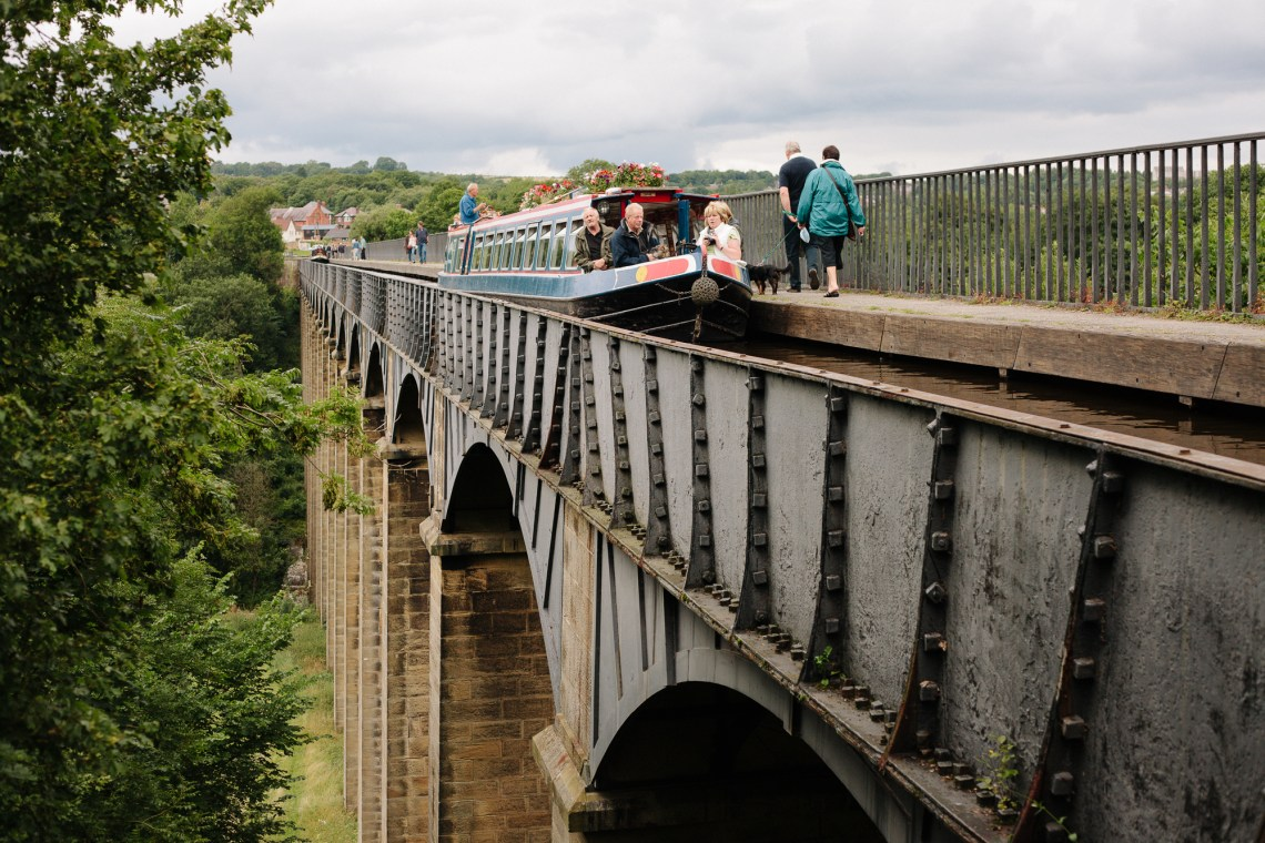 the Pontcysyllte Aqueduct, Wales. By Leonie Wise