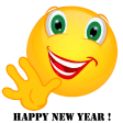 Smiley – Happy new year ! 2