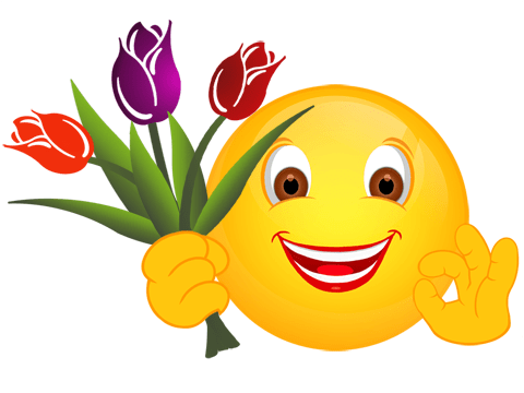 Smiley – Tulpen