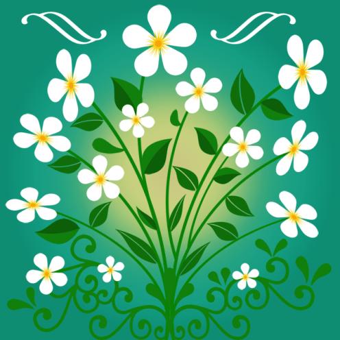 Blumen – Ornament 12