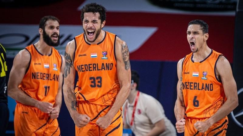 Blije Oranje basketballers
