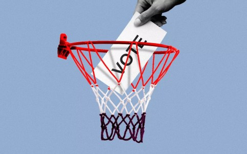 Basketbal stem