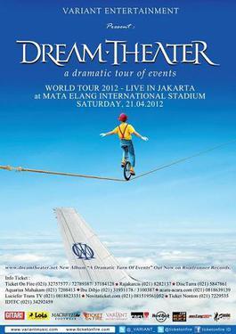 Dream Theater plays with Trivium  Atlanta, Georgia