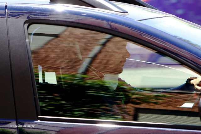 conductor con mascarilla