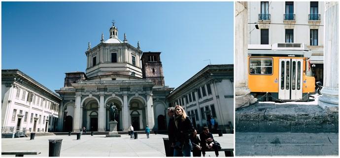 Colonne di San Lorenzo, Bachelorette, italian photographer in Milan
