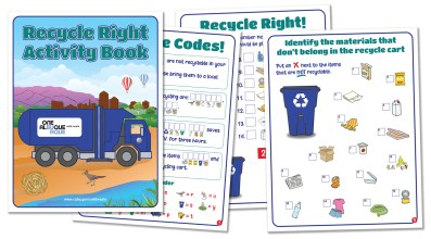 City of Albuquerque's Recycle Right Activity Book