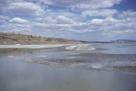 Lake Magadi - almost dry
