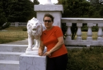 Eve with lion