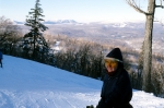 Cold day skiing at Stratton