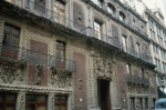 Back in Mexico City, Iturbide Palace