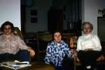 Gathering at our house - March 1976