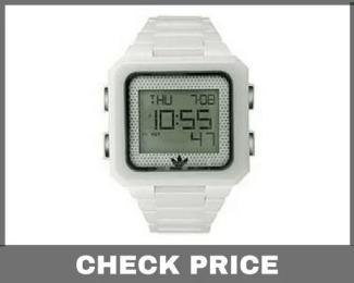 Adidas Men's ADH9013 Ceramic White Peachtree Digital Watch