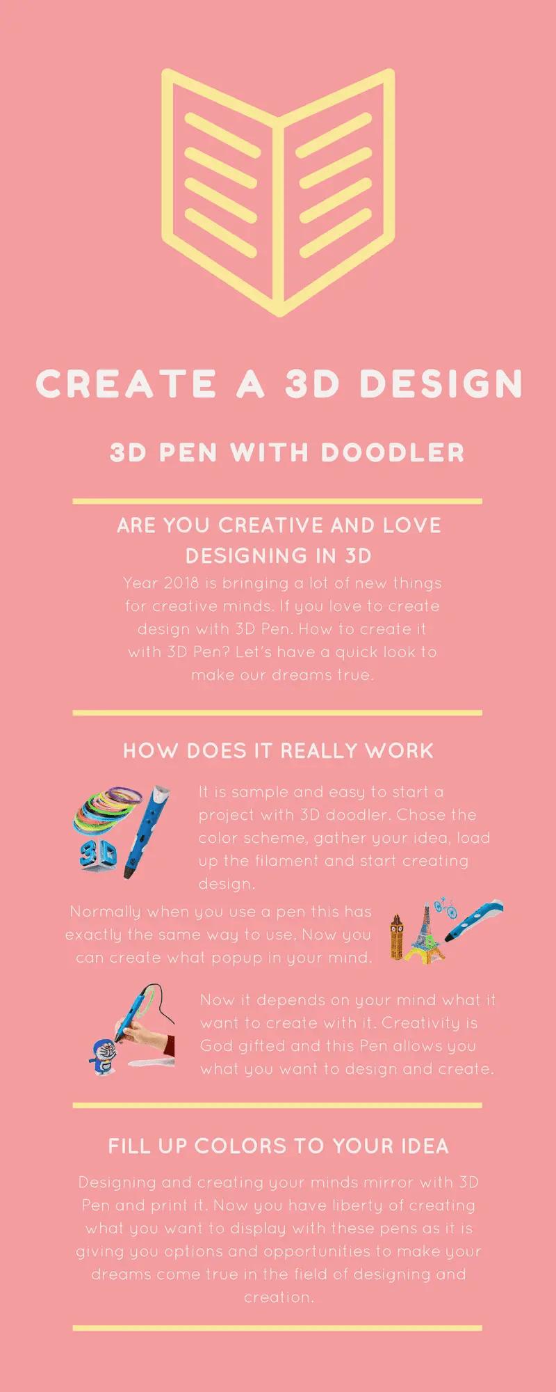 Best 3D pen 2018