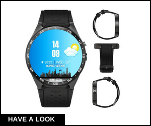 Kingwear 3G Smart Watch Android 5.1 OS