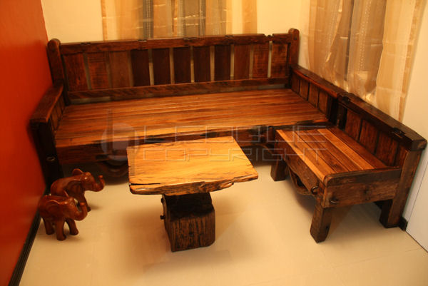 L Shaped Wooden Sofa Philippines | Brokeasshome.com