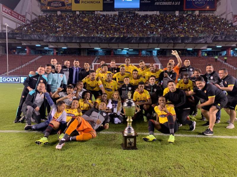 Copa Alberto Spencer winners 2019.