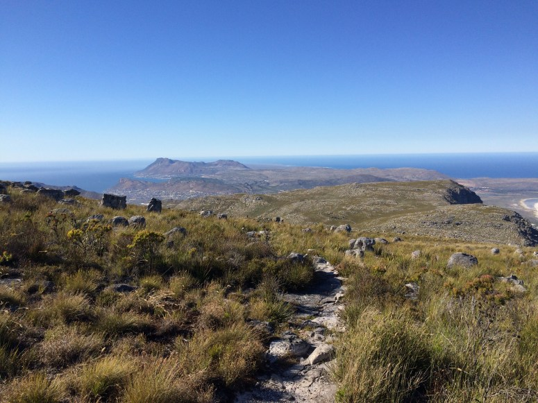 View looking back towards Cape Point
