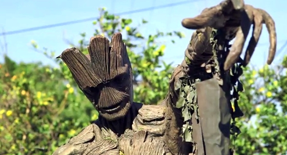 How To Build A Groot Swing Set If You Re A Hollywood Prop