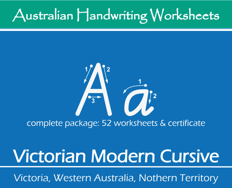 Image Handwiting Worksheets - AU-VIC