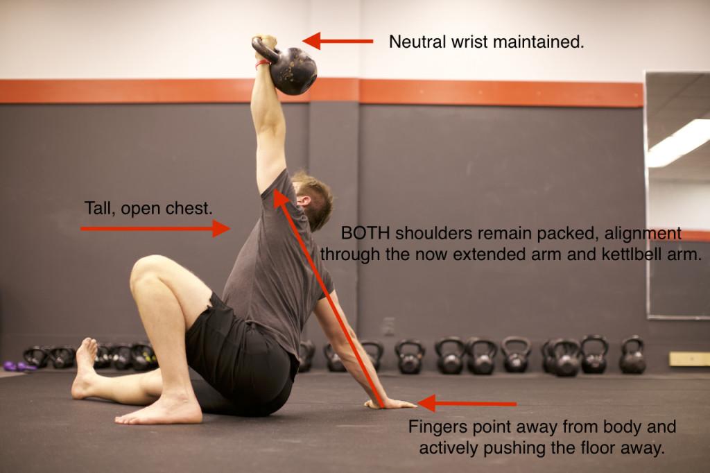 Step 3 of the TGU | Tall Sit