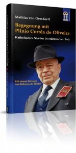 Capa da biografia em alemão de Plínio Corrêa de Oliveira