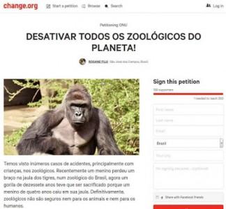 Os supostos 300.000 apoiadores do gorila…
