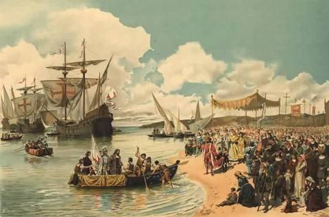 Vasco da Gama parte para a Índia