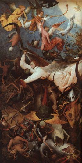 Vitoria dos Anjos fieis, Pieter Bruegel