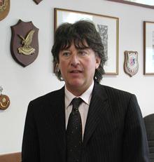 Dr. Tiziano Masini representou a Procuradoria durante o processo Bestie di Satana (Animais de Satanás).