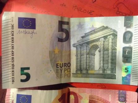 Les premiers euros du Parédé