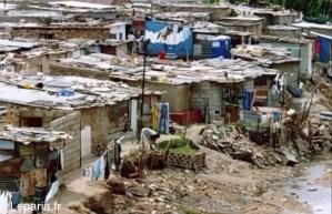 Bidon ville d'Algérie