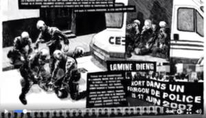 Violence policiere Lamine Dieng leparia