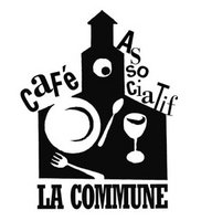 logo café associatif La commune leparia