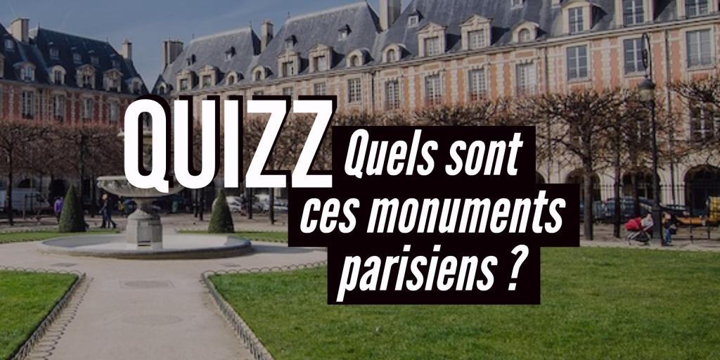 Quizz Monuments parisiens