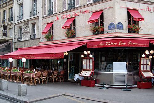 chien qui fume restaurants les plus vieux de Paris