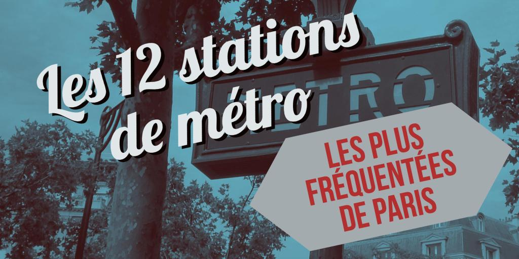 top stations metro