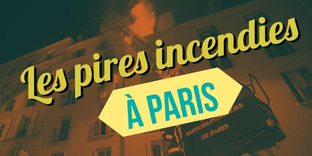 incendies à paris