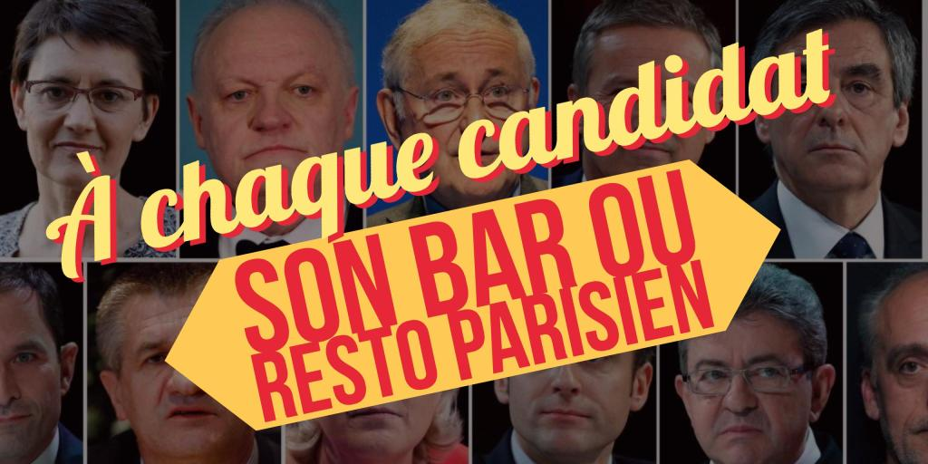a chaque candidat son bar