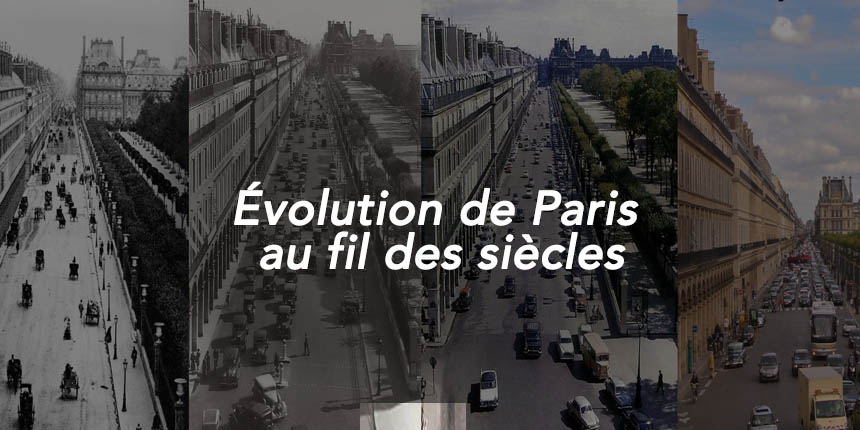 evolution de paris au fil des siecles