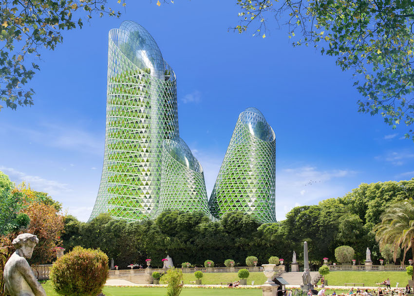 Paris en 2050 MONTPARNASSE