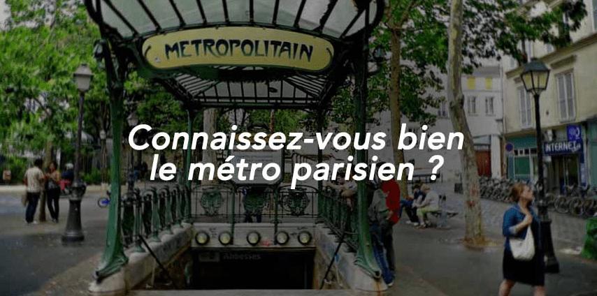 quiz metro parisien