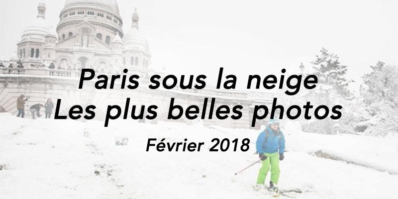 Paris sous la neige 2