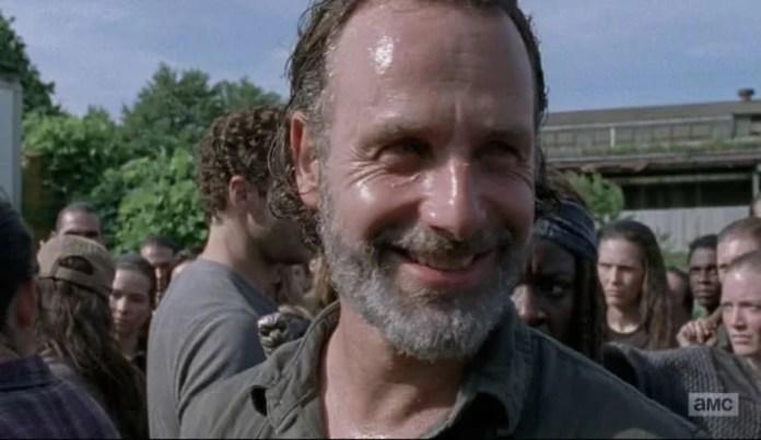 Padahal dikepung, kenapa Rick malah tersenyum?