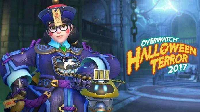 Mei Overwatch Halloween Terror