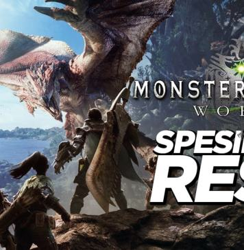 Spesifikasi Resmi Monster Hunter World